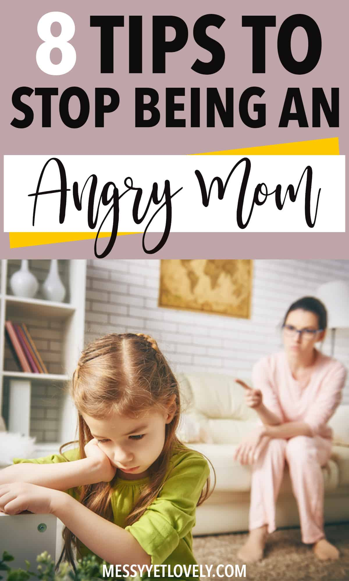 Controlling anger as a mom is important to build a healthy relationship with kids. Here are 8 tips to control anger with kids.