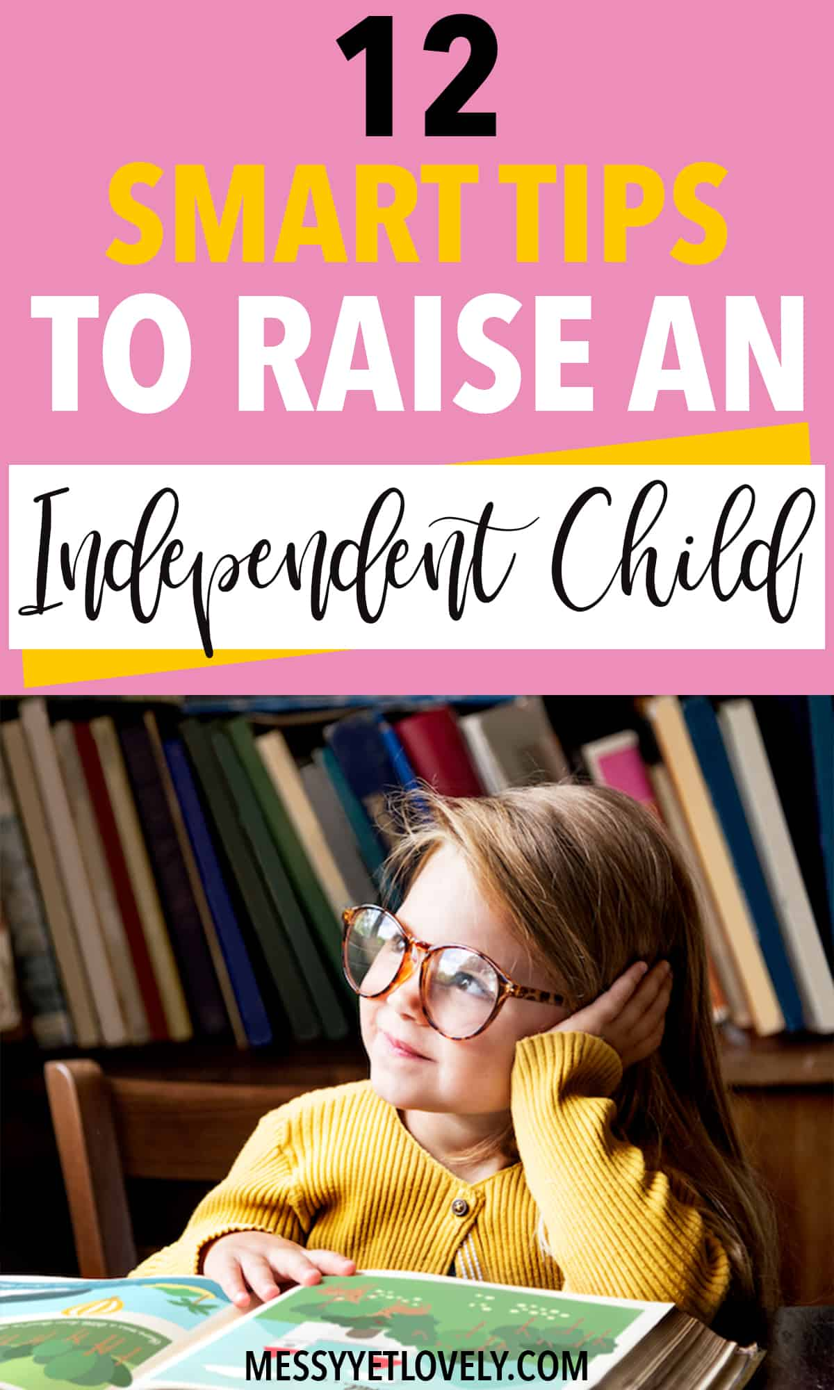 Tips for parents on how to raise independent children. #parenting #parentingtips