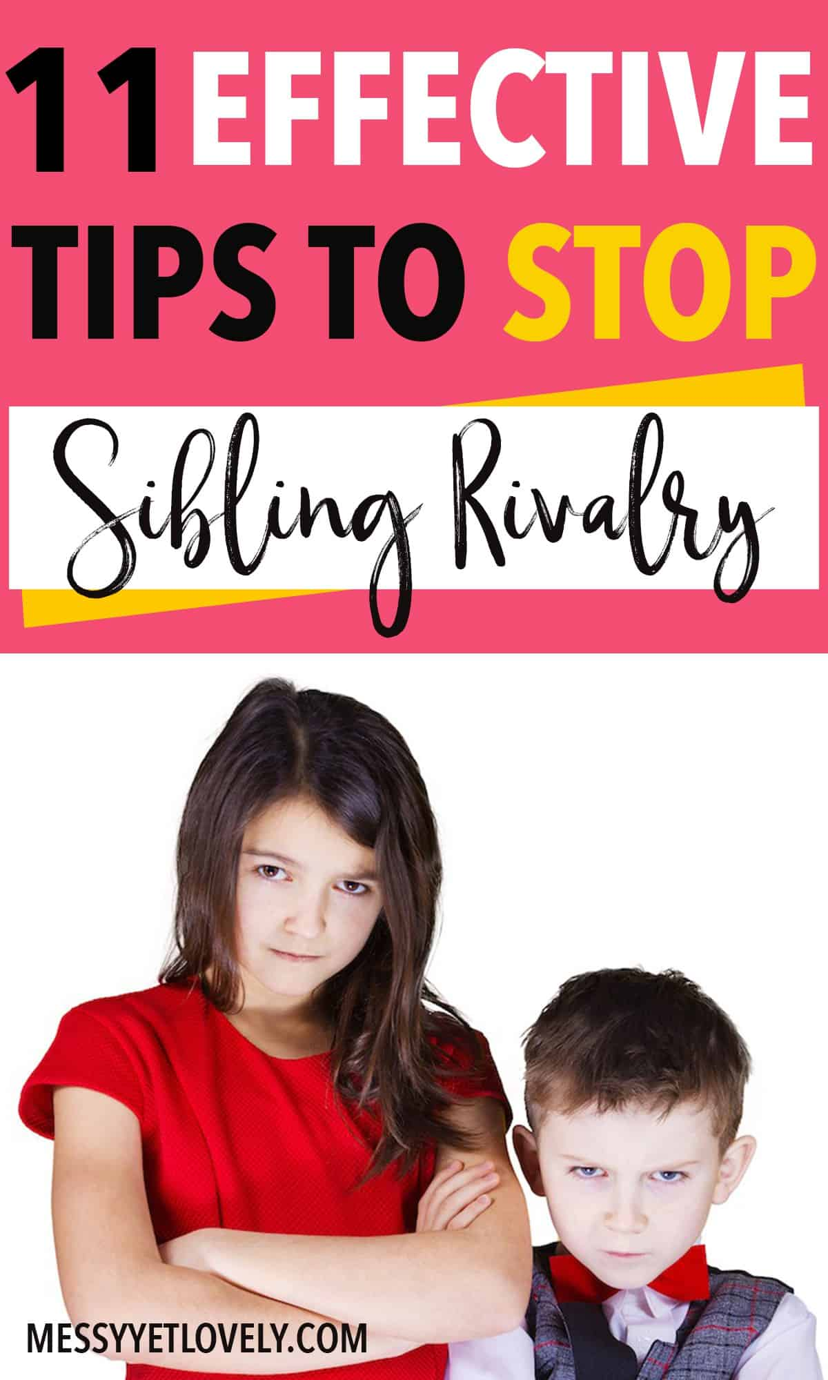Is sibling rivalry making you insane? Don't worry! There are ways to deal with sibling rivalry effectively. Read this post to learn about strategies to help siblings get along with each other peacefully.
