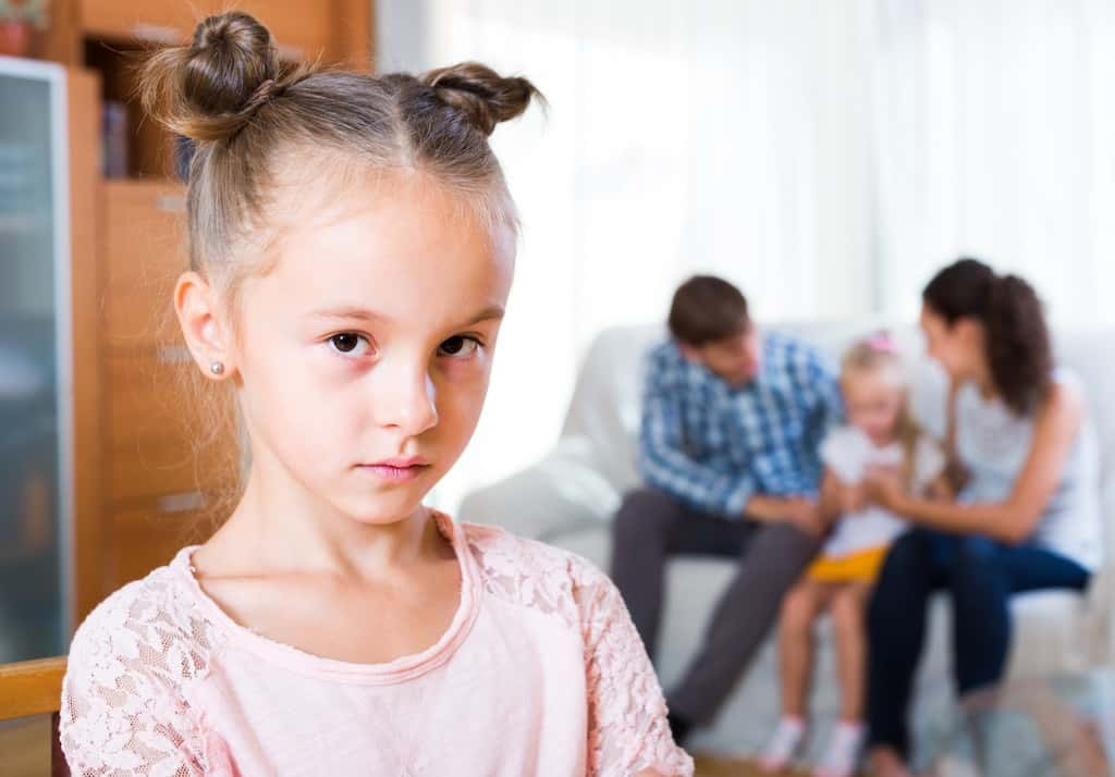 Angry girl- How to stop sibling rivalry
