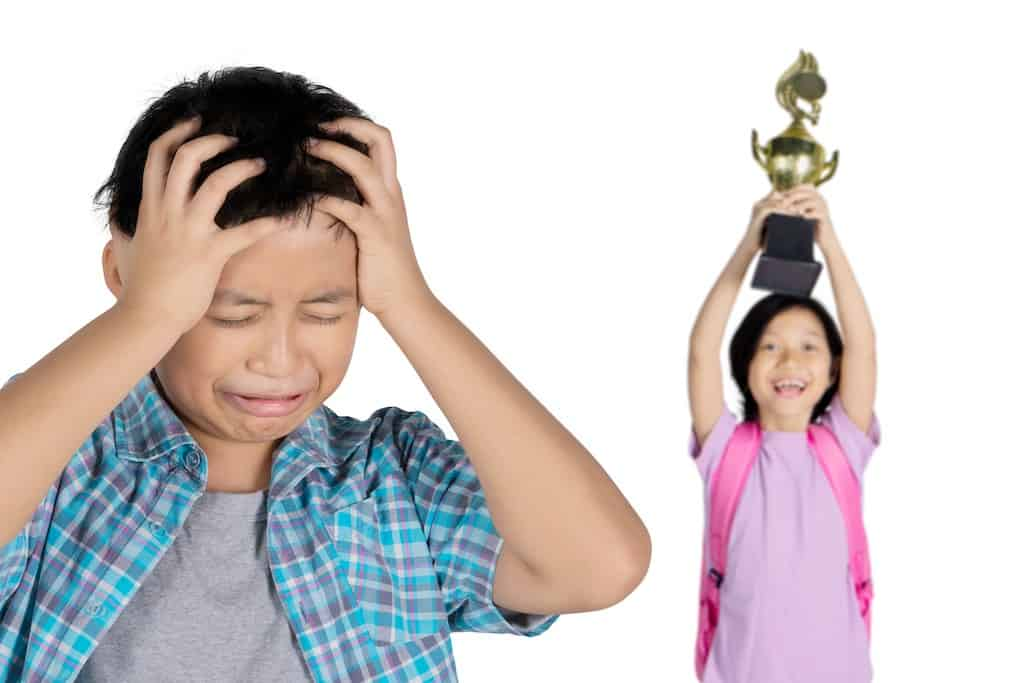 Boy jealous of his sister- How to stop sibling rivalry