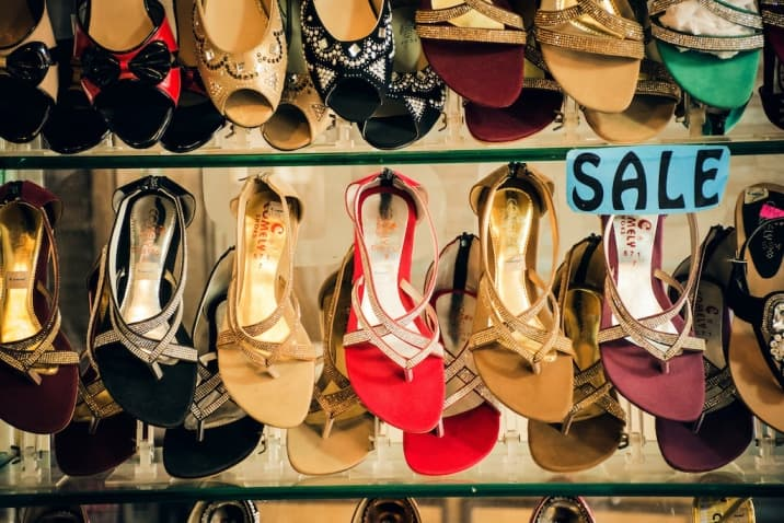 Same sandals in different colors - how to stop accumulating clutter